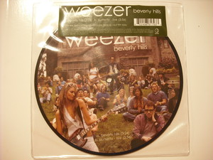 """【7"""" Picture Disc】WEEZER / BEVERLY HILLS"""