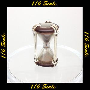 【01878】 1/6 Phicen スケルトン 砂時計