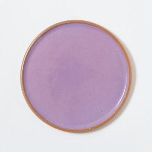 plate large〈purple〉
