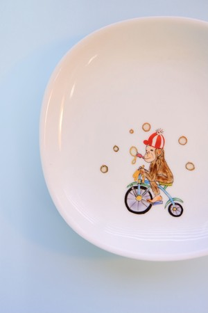monkey circus / plate(15cm)
