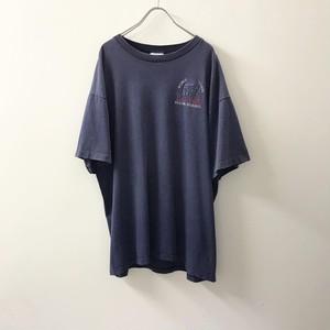 KINGSTREE CLASSIC ボーダー柄Tシャツ ネイビー XL USA製 メンズ 古着