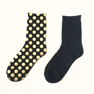 METAL SOX (1.5DOT) BLACK X GOLD