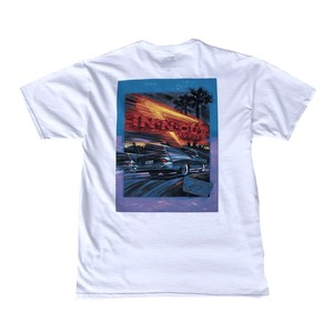 IN-N-OUT BURGER 1991 WELCOME TO CALIFORNIA TEE - white