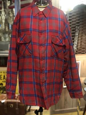 90s USA キルティングネルシャツ ジャケット アメリカ
