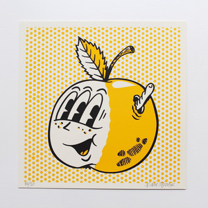 Vinnie Nylon/Adam Zapple screen print (BK)