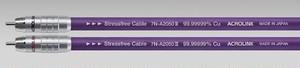 ◆◆ACROLINK(アクロリンク) 7N-A2050 III RCA/0.6mペア【RCAインターコネクトケーブル】 ≪定価表示≫大変お得な販売価格はお問い合わせ下さい!!