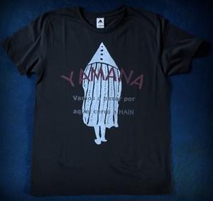 YAMANA Tシャツ Tanuモデル ブラック
