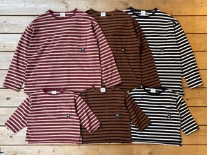 Groovy Colors / (90~120) Pocket Wide L/S Tee