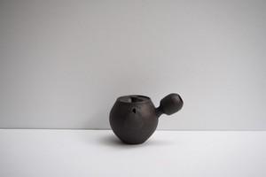橋本忍 錆黒横手茶壺(急須)