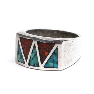 Vintage Mexican Inlay Ring
