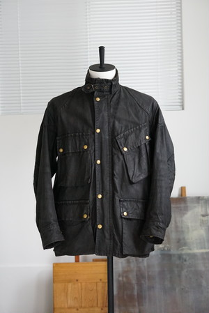 <SOLD OUT>Sylman Products - Wax Cotton Motorcycle Jacket 1970's