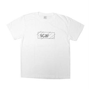 scar /////// OG LOGO TEE (White) 6.2oz