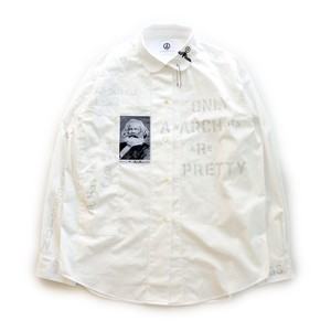 anarchy shirt 055 (white riot)