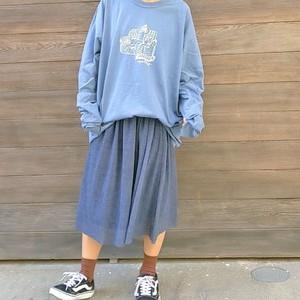 apartment ロングTシャツ [BL]