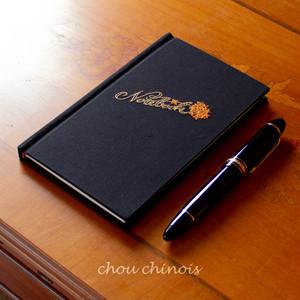 手製本ハードカバーノート Notebook 金木犀