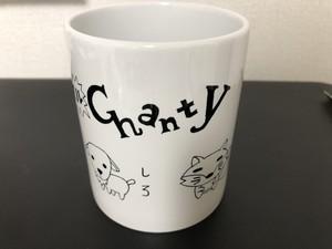 アニマルChantyマグカップ(白プロデュース)【SOLD OUT】