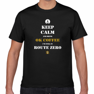 ルートゼロTシャツ KEEP CALM and DRINK COFFEE ROUTE ZERO