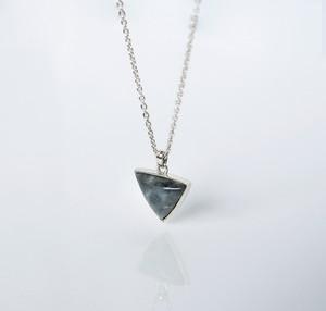 HISUI 'SANPO'  / Necklace (Dark Grey)