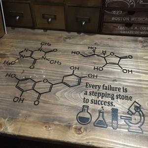 ステッカー〈化学式〉L