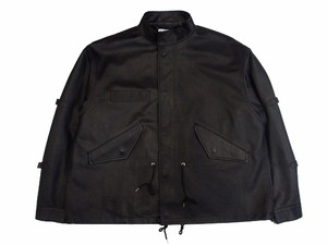MODS LEATHER JKT×(blackmeans)  BLACK  18AW-FS-01