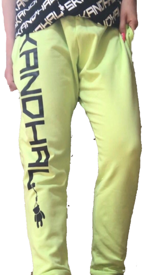 【SKANDHAL】LOGO パンツ FIRENZE【グリーン】【新作】イタリアンウェア【送料無料】《M&W》