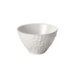「リアン Lien」ボウル 皿 直径約11×深さ7cm M ホワイト 美濃焼 267811
