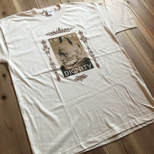 "Bob Dylan ""DIGNITY"" Tシャツ Dead stock"