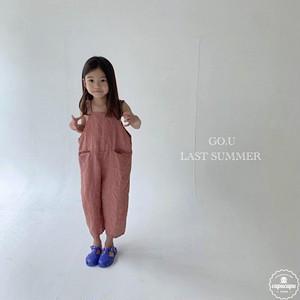 «予約» go.u linen overall 2colors リネンオーバーオール