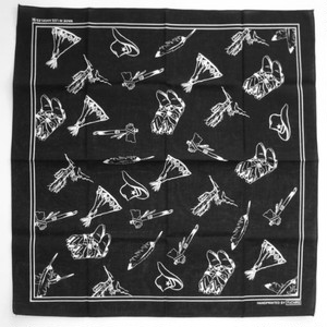 "FxCHRS Original Bandana ""Teepee Haven"", black"