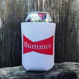 Bummer California - BOW TIE  WHITE KOOZIE
