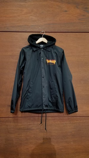 THRASHER FIRE FRAME COACH JACKET(ラスト1枚)