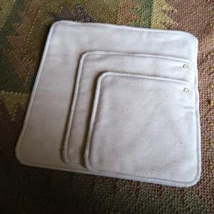 オーガニックコットン布ナプキン-Mサイズ-