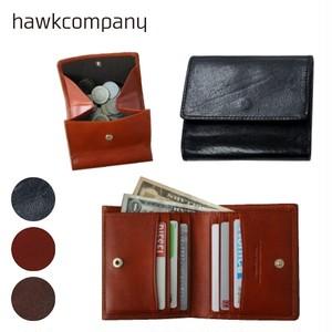 FAUCON 7229 レザーミニウォレット Hawk Company