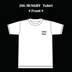 JAG HUNGRYオリジナルTシャツ(WHITE)