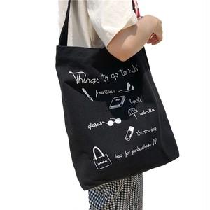 Canvas Shoulder Bag Messenger Bag Crossbody Bag Handbag Travel Casual Tote カジュアル ショルダーバッグ トートバッグ クロスボディ ハンドバッグ メッセンジャーバッグ (HMS99-9666472)