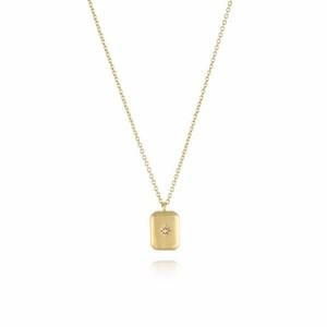 316L Brick Star Necklace