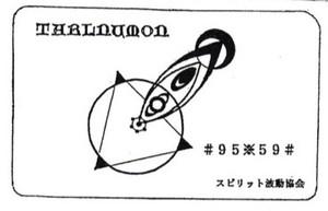 高次元電磁波カード タールヌモン