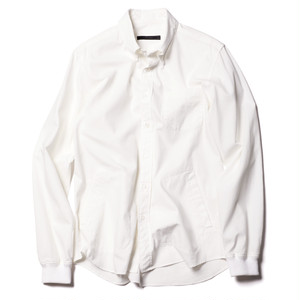 SOPHNET. RIBBED B.D SHIRT