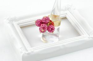 ラインストーンパヴェボールリング pve-ringrose6 ローズ (ピンク) 指輪 パヴェ