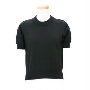 メゾンマルジェラ ( Maison Margiela ) 半袖プルオーバー ブラック