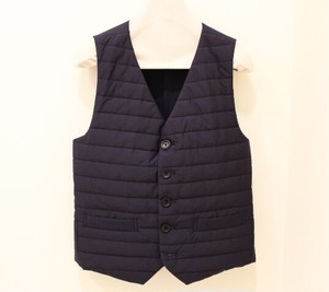 TIMONE Quilting Single Breasted Gilet