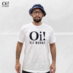 【Oi! BJJ WORKS ロゴTシャツ】