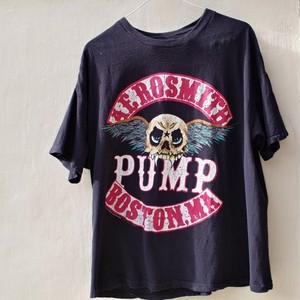 "1990s AEROSMITH / PUMP ""Janie's Got A Gun"" Boston, MA Vintage Rock Tee / 90年代 エアロスミス ヴィンテージ ツアー Tシャツ"