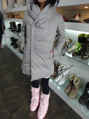 MOON BOOT  MB DELUX PINK