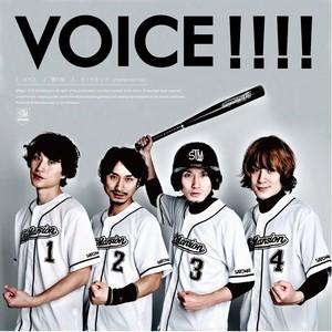 両A面single「VOICE/雪の音」