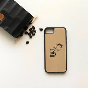 コーヒー部 iPhone6/6s/7/8用とiPhoneX/Xs用