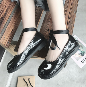 【flat-shoes】fashion 2018 new casual Retro loafer