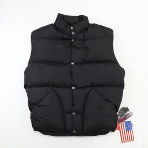 """90s """" Schott """"  Down Vest 【Deadstock】Black   90年代  ショット  ダウンベスト  グースダウン A699"""