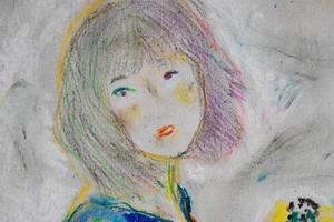 オオヤマネコ作品『あの日の肖像 IV』