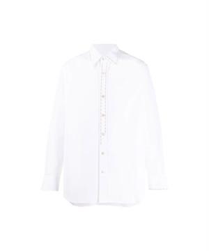 MARNI Embroidery L/S Shirt (S49305) White CUMU0150S0